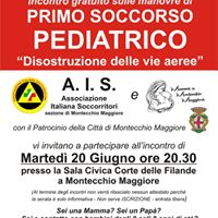 Incontro Gratuito Primo soccorso pediatrico